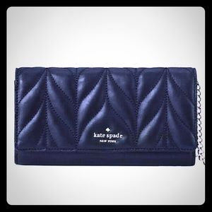 Authentic NWT Kate Spade black briar lane quilted